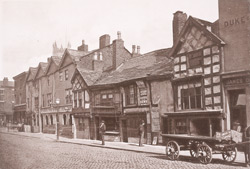 Old Buildings, Chapel Street, Salford